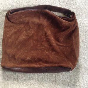 Handbags - Suede Hobo